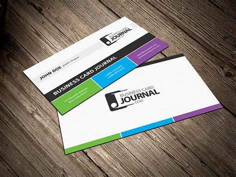 great fx business card template 55 free creative business card templates designmaz