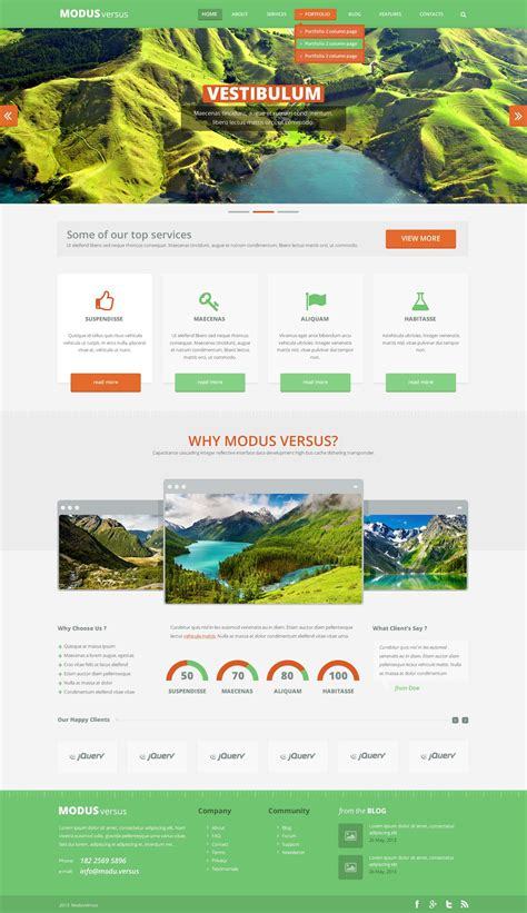 layout builder download free psd template modus versus webdesigner depot
