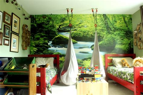 forest room room ideas using photo wall murals houston family