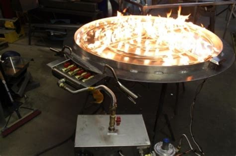 how to make a propane pit burner outdoor pit ideas using glass modern outdooor