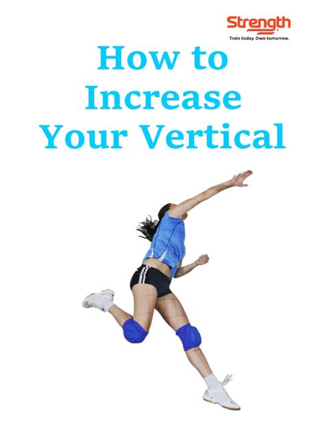 how to increase your vertical