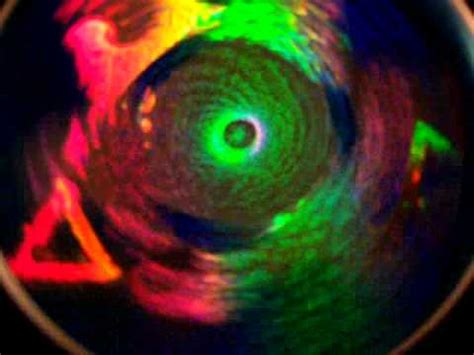 Spiner Hologram spinning holographic fractal