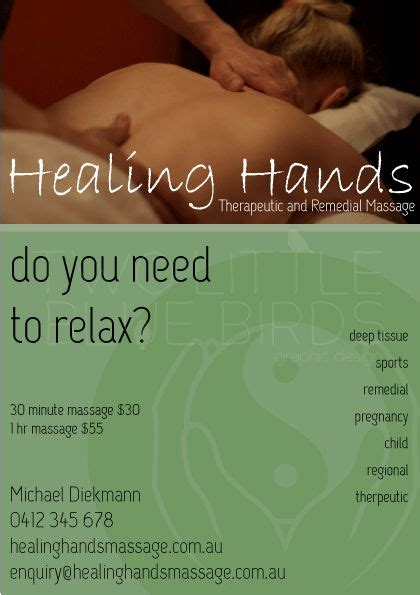 massage business flyer design flyersposter corporate