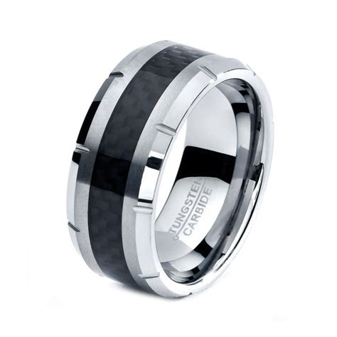 black tungsten mens wedding bands black tungsten ring black tungsten rings black