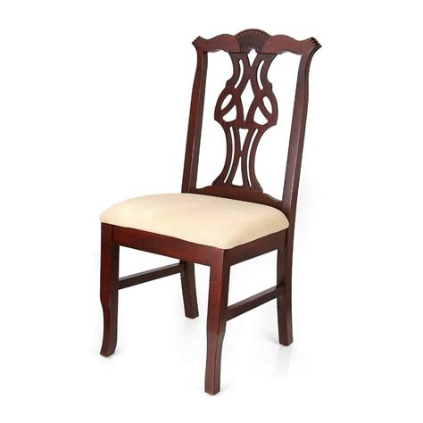 dining room chairs chippendale mahogany dining chair 13333337 overstock shopping great deals on dining chairs