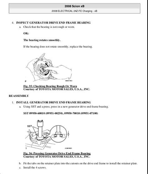 online car repair manuals free 2009 scion xb lane departure warning service manual service manual 2009 scion xb scion xb 2009 service repair manual