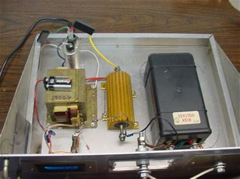 how to hook up a microwave capacitor my commentary and technical help 5 kv soda can crusher