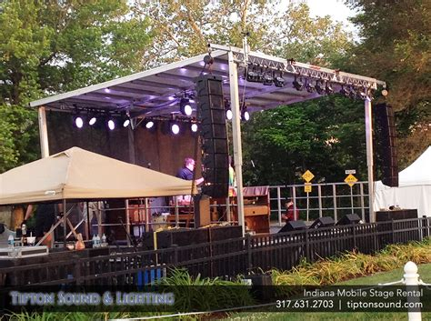 mobile stage mobile stage lighting lighting ideas