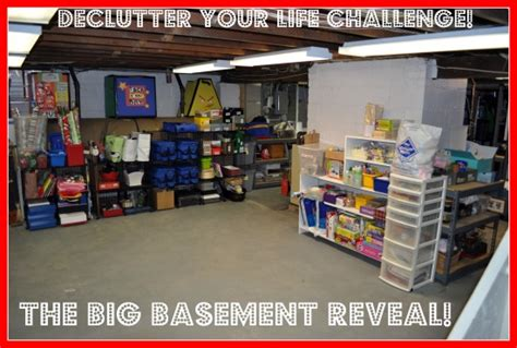 clean my basement get an organized space back into shape and maintain it