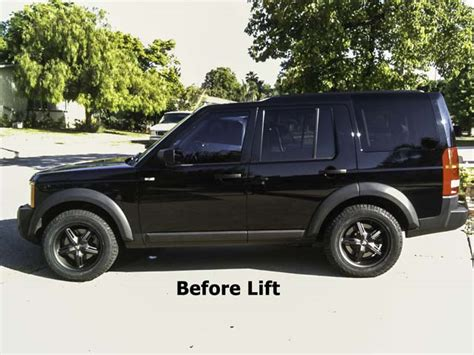 land rover lr3 lifted diy 2 quot lr3 suspension lift land rover forums land