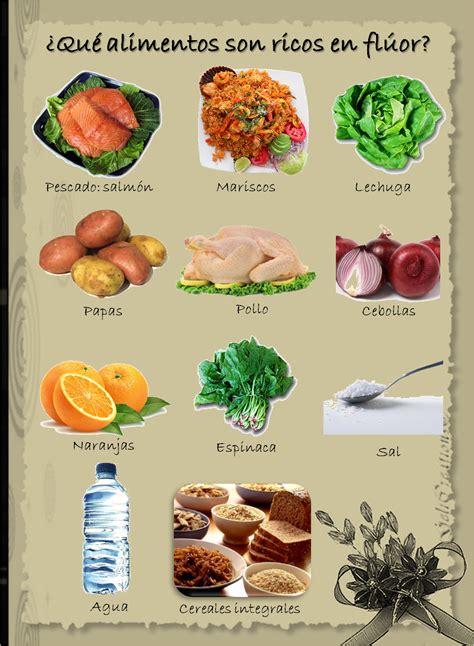 alimentos q contienen fluor generalidades del fl 250 or mecanismo de acci 243 n metabolismo