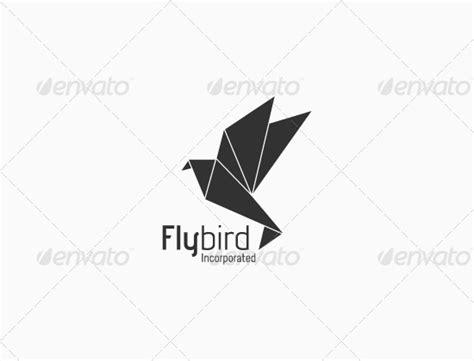 origami bird logo origami bird logo by maov graphicriver