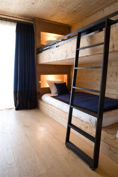 functional  stylish kids bunk beds  lights