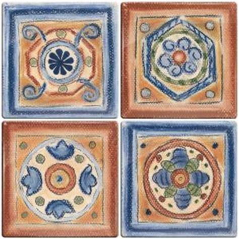 smart tiles 3 11 16 in x 3 11 16 in terra cotta santa fe