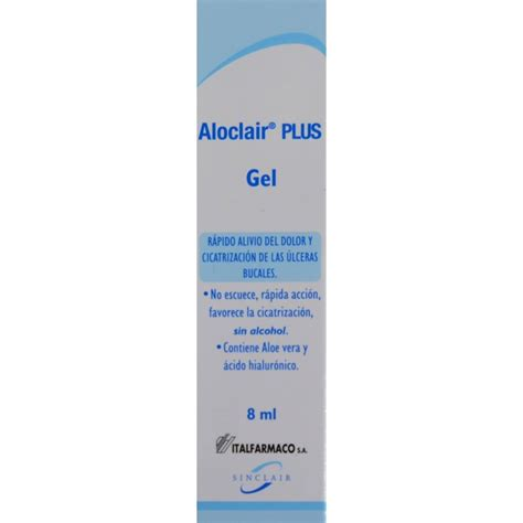 Aloclair Plus Gel gel aloclair plus gel 8 ml italfarmaco farmacia riba