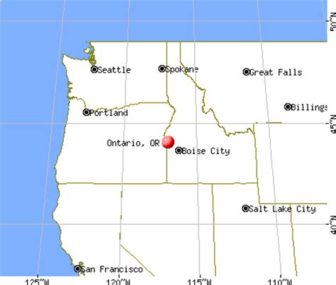 map of oregon ontario ontario oregon or 97914 profile population maps real