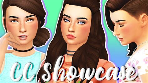 maxis match cc for the sims 4 tumblr maxis match cc finds the sims 4 hair makeup