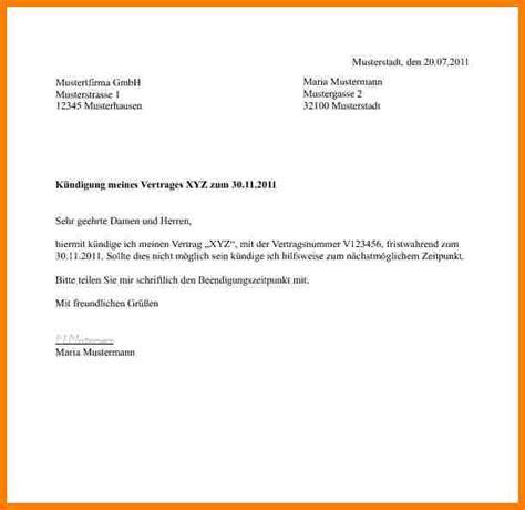 Eingeschriebener Briefvorlage maxdome k 252 ndigungsschreiben vorlagen 11 k 252