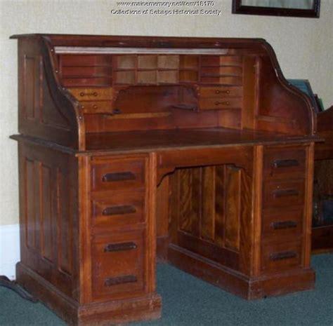 Post Office Desk Maine Memory Network Sebago Post Office Desk Ca 1915