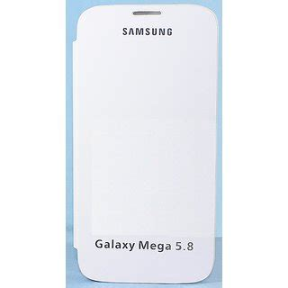 Samsung Galaxy Mega 5 8 I9150 I9152 Frosted Matte Murah samsung galaxy mega i9150 i9152 5 8 flip cover pouch white