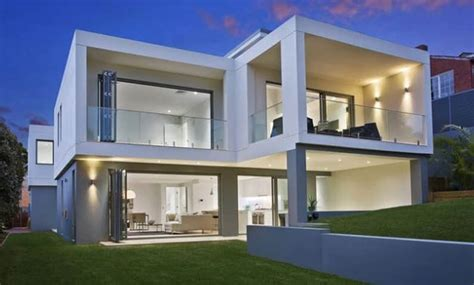 Free Online House Plans by Architect Design New Home Cube House Seaforth Sydney