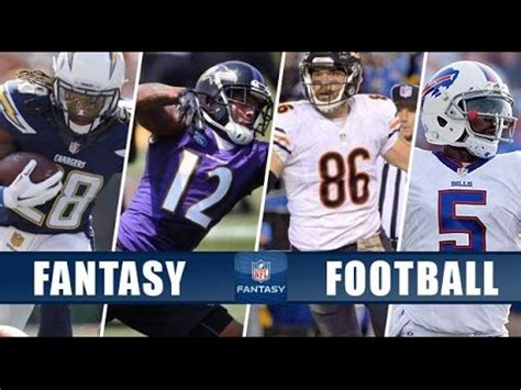 nfl football the top three sleeper players at