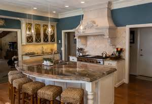 16 impressive curved kitchen island designs curved kitchen island house plans pinterest