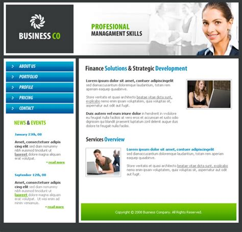 Business Network Website Template 3187 Business Website Templates Dreamtemplate Business Website Templates