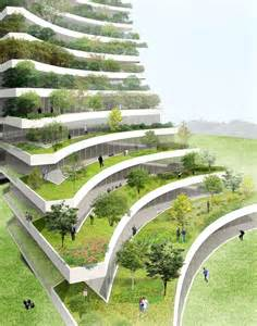 Sustainable Landscape Arch Vo Trong Nghia Proposes Green City As Extension Of Park