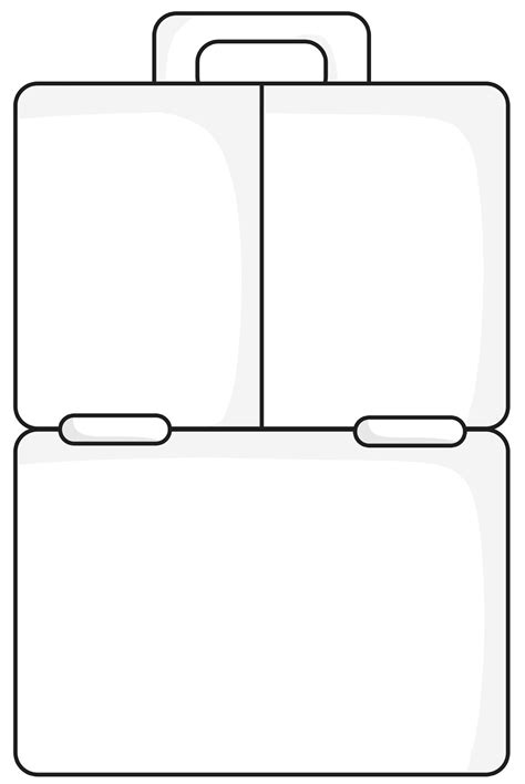 7 best images of lunch box printable template free