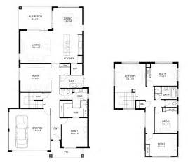 2 house plans with 4 bedrooms storey 4 bedroom house designs perth apg homes