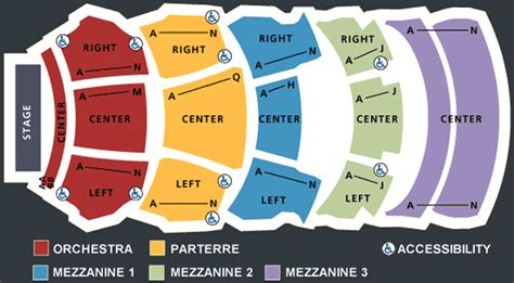 dolby theater seating chart kodak theatre seating chart theatre in la