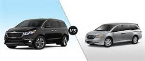 Kia Sedona Vs Honda Odyssey 2015 Kia Sedona Vs 2015 Honda Odyssey