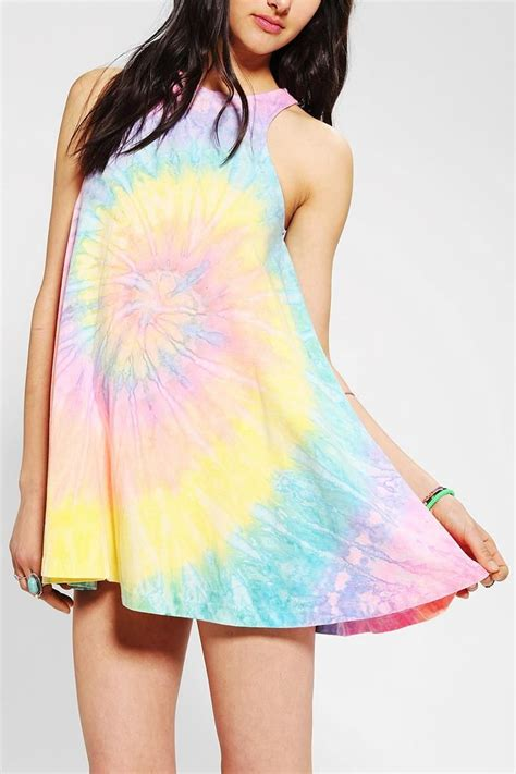 pastel tie dye dress images