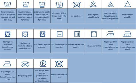 symbole international pour entretien textiles recherche rideaux stores toile en