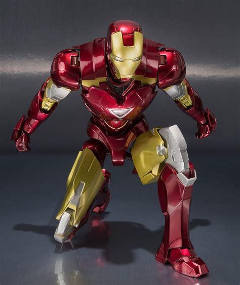 Bandai Shf Iron 2 6 Mk Vi sh figuarts iron 6 figure of armor in the