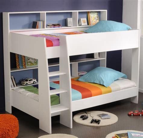 bunk beds with dresser built in scenic brown wooden bunk beds using white bed linen and