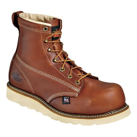 safety toe work boots s thorogood 6 quot emperor toe composite safety toe work
