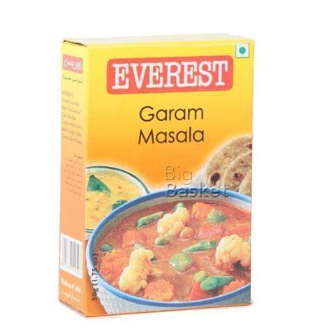Everest Masala everest masala garam 50 gm buy at best price bigbasket