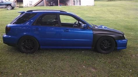 rally subaru wagon find used 2002 subaru impreza wrx wagon rally blue mods