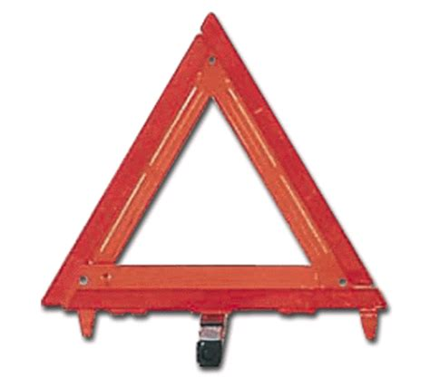 cortina safety highway warning triangles 3 pkg