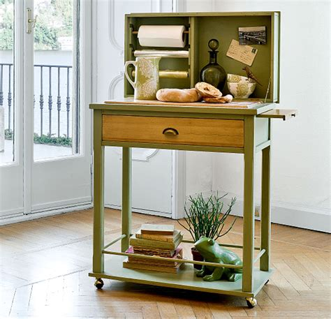 mesa auxiliar clasica verde ross tonin casa en