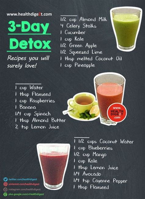 Detox Nutritionist by Wellness Fitness 3 Day Detox And Detox Recipes On
