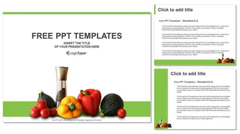 powerpoint templates vegetables free download fresh vegetables powerpoint templates