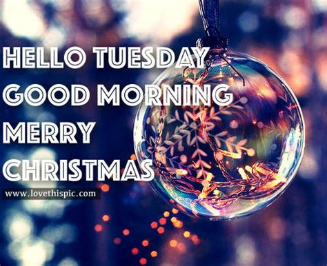 tuesday good morning merry christmas pictures   images  facebook tumblr