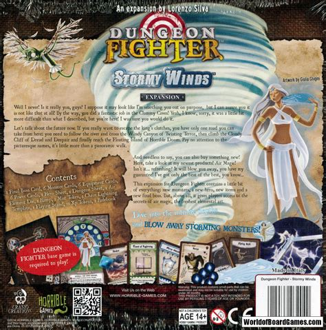 Dungeon Fighter Winds Expansion dungeon fighter winds exp worldofboardgames