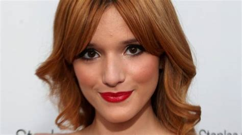 actress with acne actress bella thorne used to cry herself to sleep over
