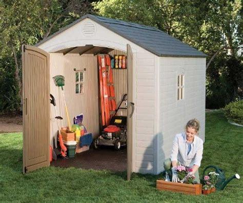lifetime 6405 8 x 10 storage shed storage shed reviews
