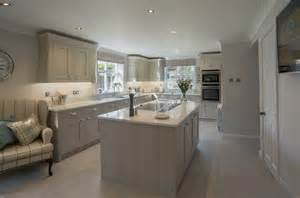 kitchen design liverpool painted kitchen in frame stone and almond panorama kitchens liverpool