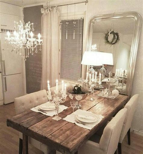 shabby chic dining room tables 1000 ideas about rustic dining rooms on pinterest
